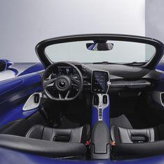 McLaren Elva z przednią szybą