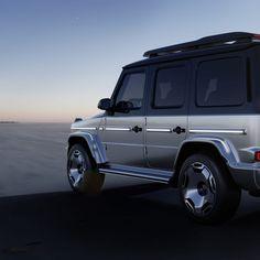 Koncepcyjny Mercedes EQG