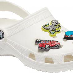 Crocsy dla dzieci z autami