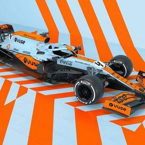Wyjątkowe barwy McLarena na Grand Prix Monako
