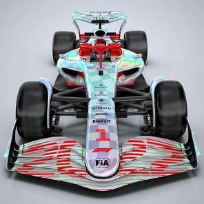 Bolid Formuły 1 na sezon 2022