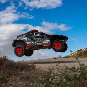 Dakar Test Zaragoza - Audi RS Q e-tron
