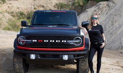Ford Bronco - Rebelle Rally 2021