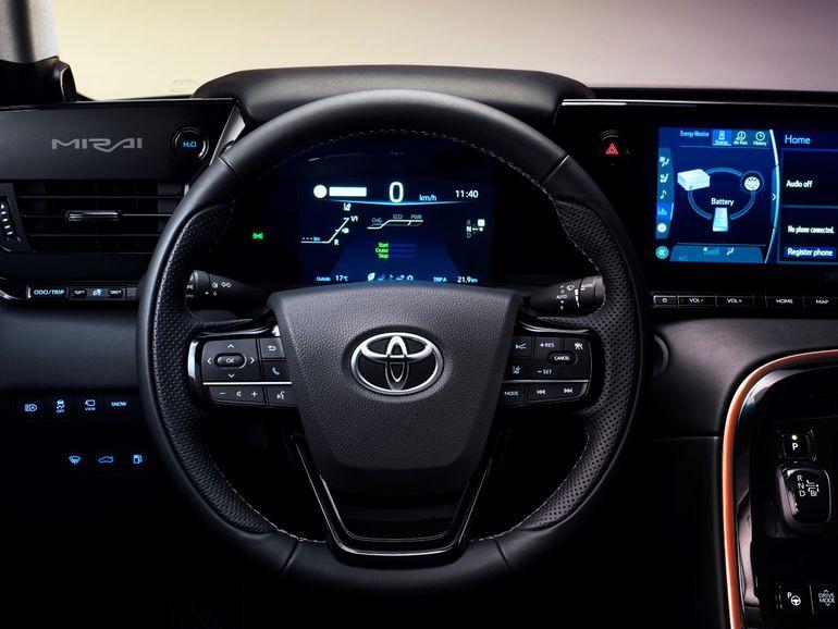 Toyota Mirai 2021: pierwszy samochód elektryczny oczyszczający powietrze