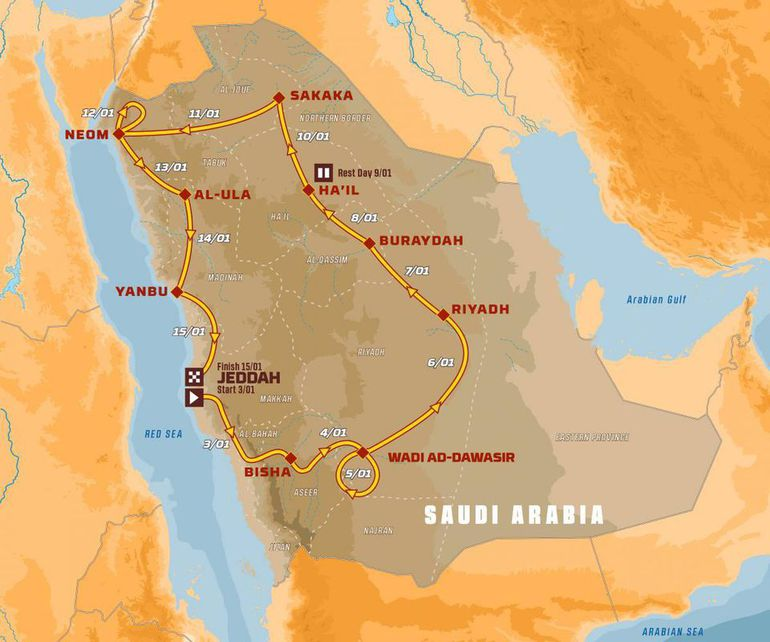 Rajd Dakar 2021: biało-czerwoni powalczą o podium!
