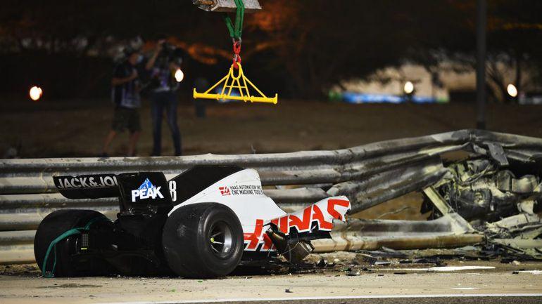 GP Bahrajnu: dramatyczny wypadek Grosjeana