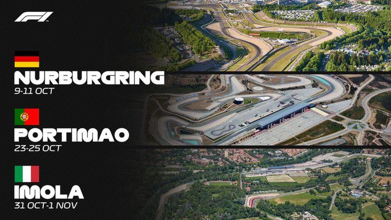 Trzy kolejne wyścigi w kalendarzu F1!