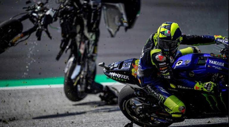 Dramatyczny wypadek w Moto GP