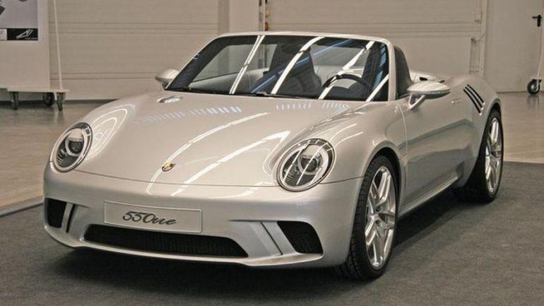 Porsche 550One concept