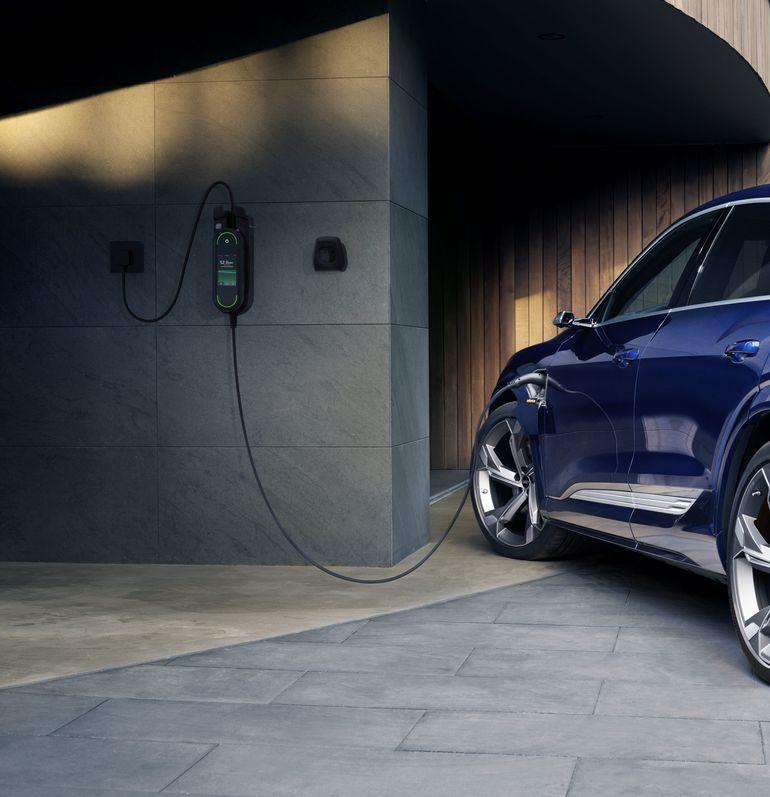 Audi e-tron przygotowane do zoptymalizowanego ładowania