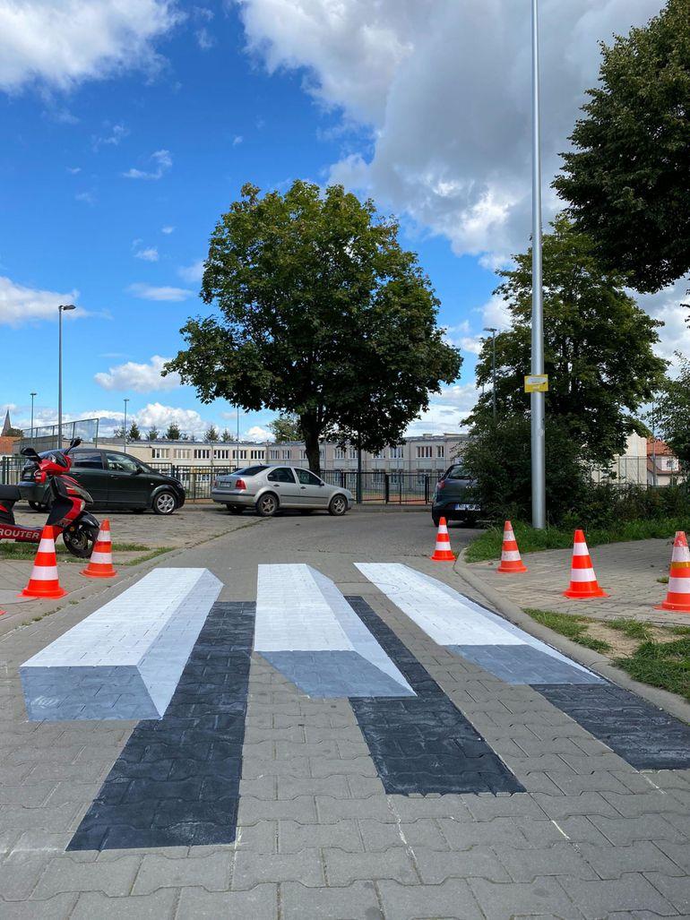 Trójwymiarowe przejście dla pieszych