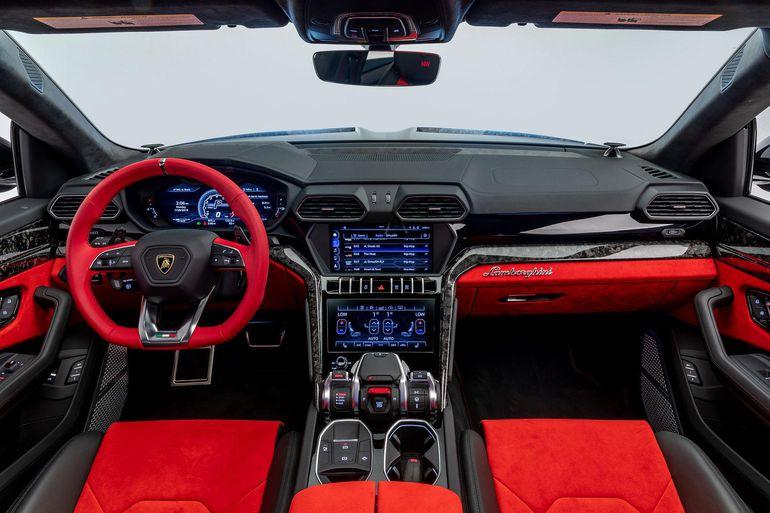 Tuning Lamborghini Urus po amerykańsku