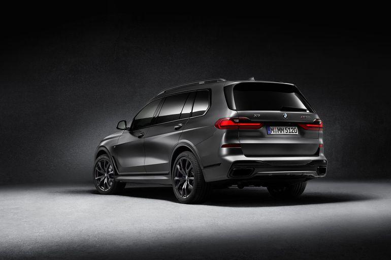 BMW X7 Edition Dark Shadow - powstanie tylko 500 sztuk w wersji limitowanej