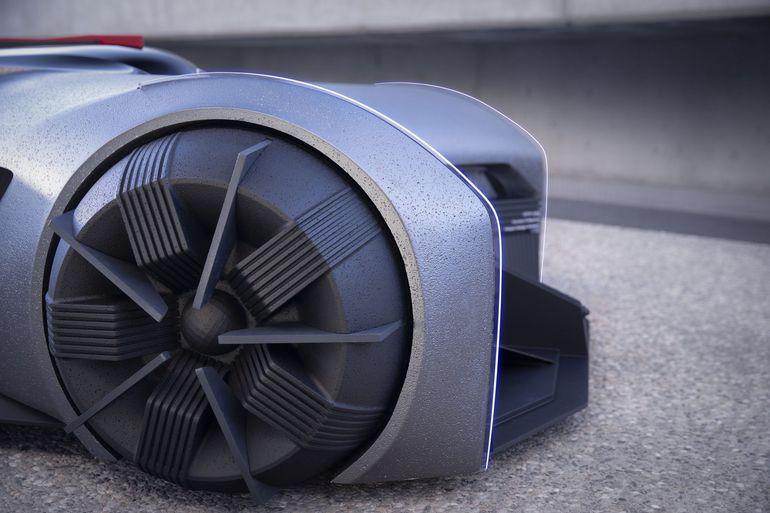 Nissan GT-R(X) 2050 - tak będzie wyglądać motoryzacja za 30 lat?