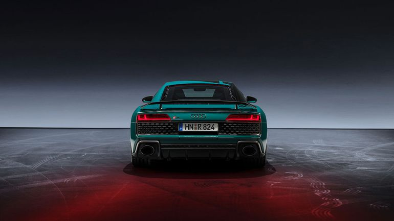 Audi R8 Green Hell - limitowana bestia stworzona na cześć jednego z odcinków toru Nürburgring