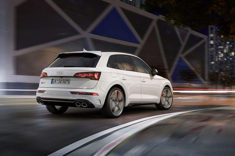 Audi SQ5 TDI zaprezentowane. Pod maską V6 o mocy 341 KM