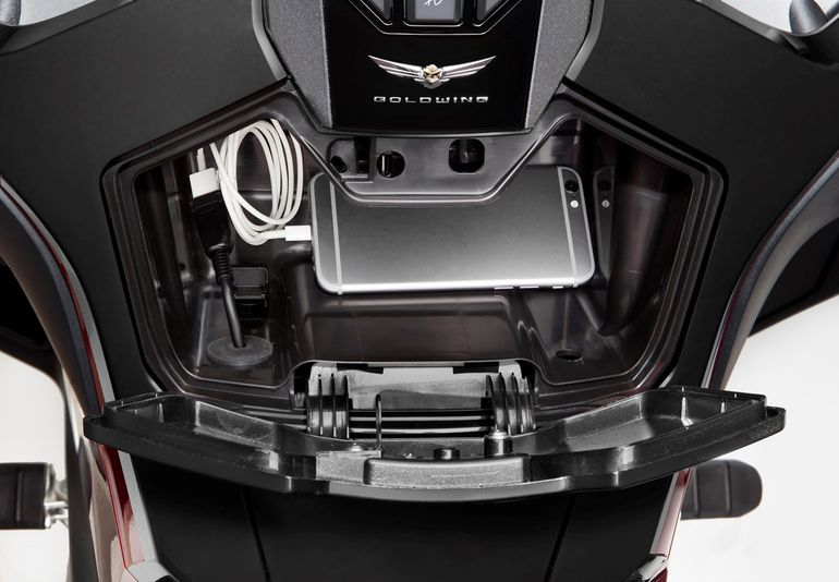 Honda GL1800 Gold Wing. Dane techniczne