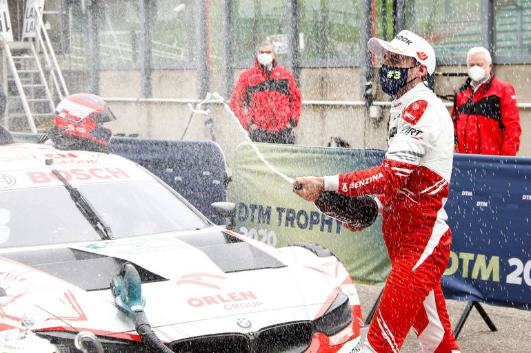 Pierwsze podium Roberta Kubicy w DTM