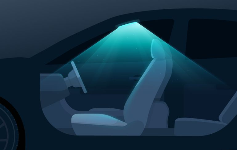 Hyundai Motor Group - Oświetlenie UV w samochodzie