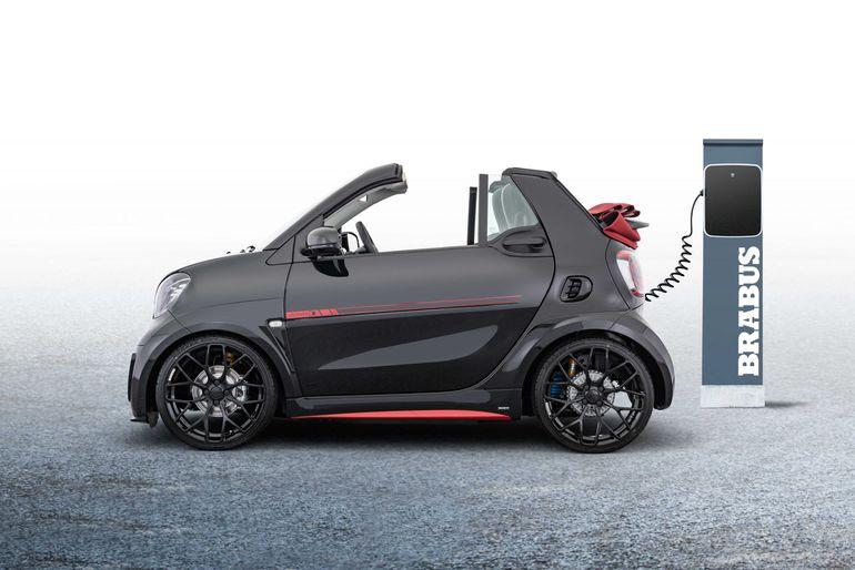 Brabus Ultimate E – w pełni elektryczny miejski samochód sportowy