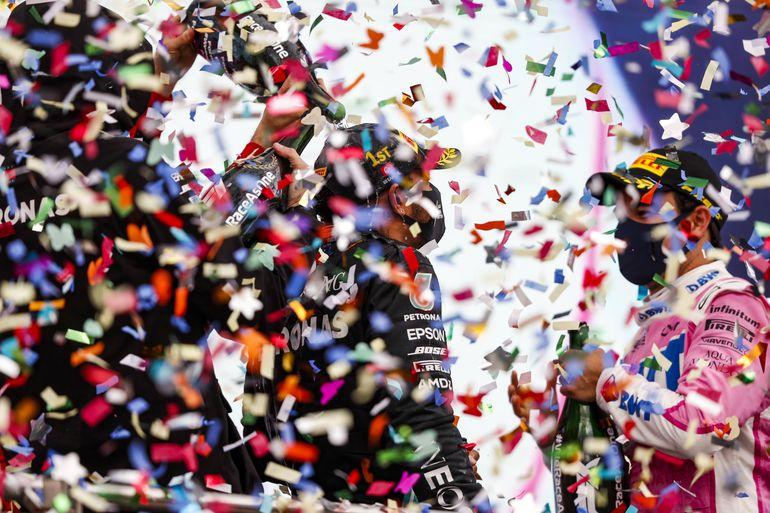 GP Turcji: Lewis Hamilton siedmiokrotnym mistrzem świata