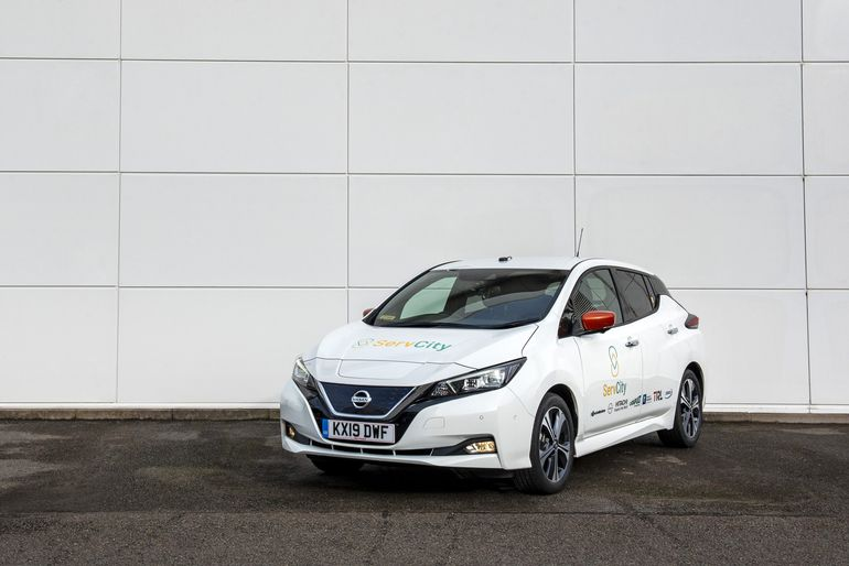 Projekt ServCity – Nissan Leaf