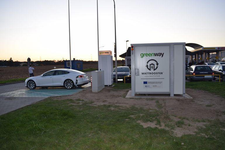 GreenWay Polska udostępnia już ponad 200 stacji ładowania i 10 magazynów energii