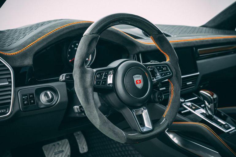 Porsche Cayenne Turbo Coupe