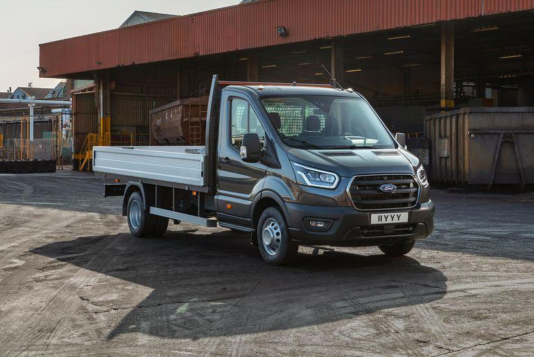 Ford ogłosił wprowadzenie pięciotonowej ciężarówki z rodziny Transita
