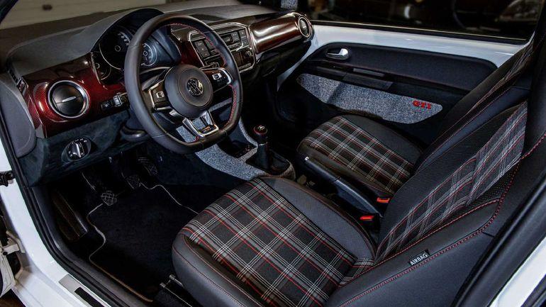 Volkswagen Up! GTI po kuracji u tunera Vilner Garage wygląda jak mała rajdówka