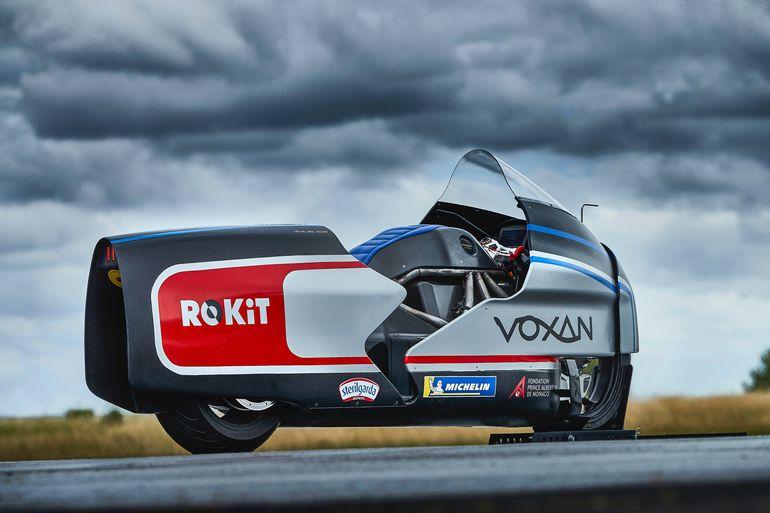 Voxan Wattman – elektryczny motocykl do bicia rekordu prędkości