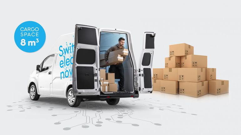 Nissan e-NV200 XL Voltia - elektryczny miejski furgon