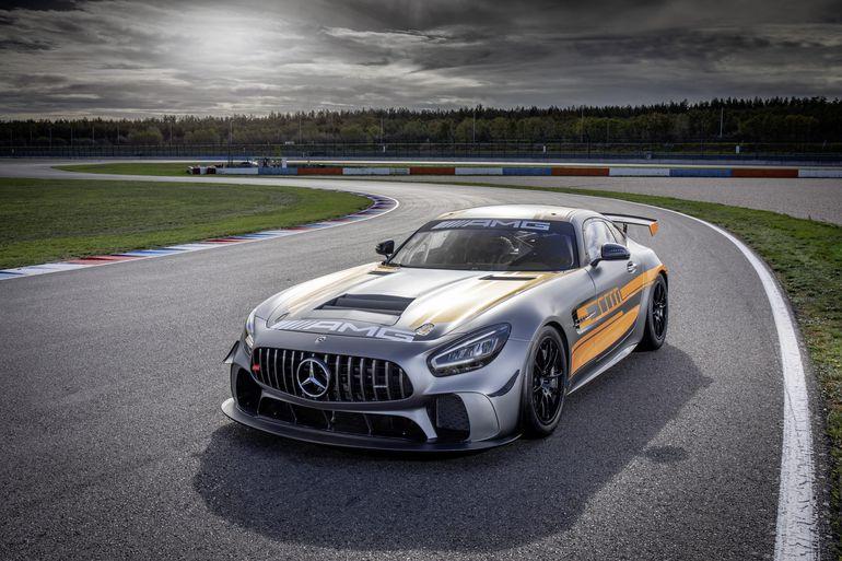 Mercedes-AMG GT4 - nowa edycja sportowego modelu z Affalterbach