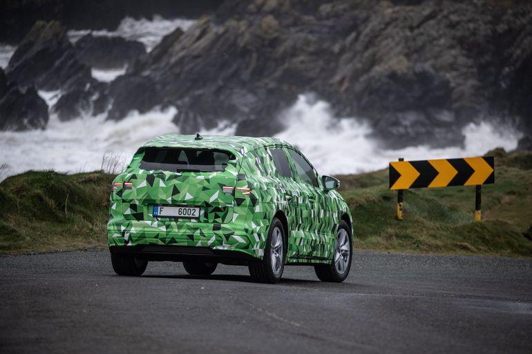 Skoda Enyaq iV. Tak się prezentuje pierwszy elektryczny SUV czeskiego producenta