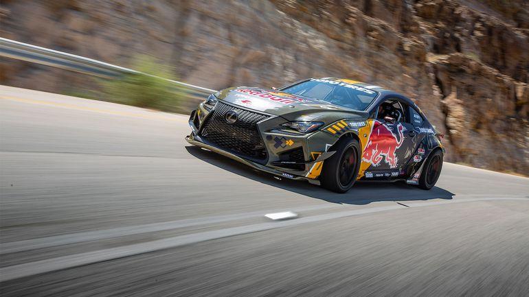 Driftingowy Lexus RC F po tuningu ma 1200 KM i karbonowo-kevlarowe nadwozie!