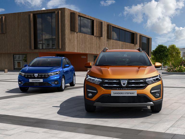 Dacia Sandero, Sandero Stepway i Logan – już niedługo poznamy modele trzeciej generacji!
