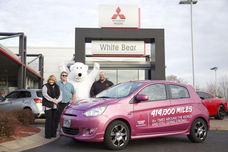 Jerry i Janice Huot przejechali 666 000 km modelem Mitsubishi Space Star!