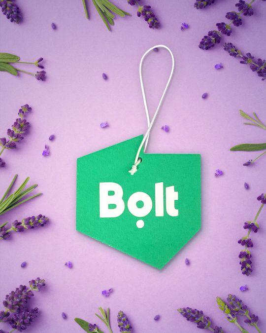 Bolt stworzył zawieszki zapachowe do aut. Ich kształt jest symboliczny, a zapach relaksujący