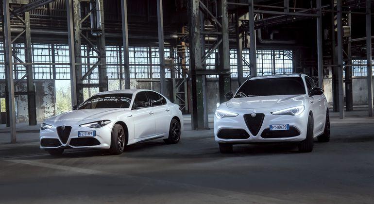 Alfa Romeo Giulia i Alfa Romeo Stelvio Veloce Ti