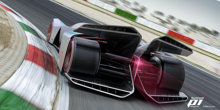 Team Fordzilla P1 od Forda – czy to najlepszy wirtualny samochód wyścigowy jaki widział świat graczy?