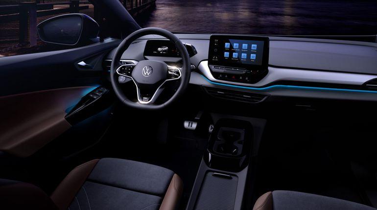 Wnętrze Volkswagena ID.4 zaprezentowane. Zobaczcie pierwsze zdjęcia!