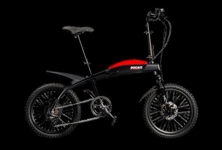 Ducati i MT Distribution prezentują nową linię składanych rowerów elektrycznych