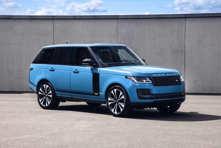 Range Rover Fifty - specjalna wersja z okazji 50 urodzin modelu. Powstanie zaledwie 1970 sztuk