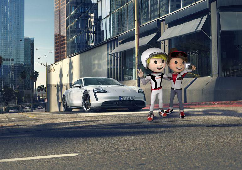 Porsche nie zapomina o najmłodszych. Stworzył kreatywny serwis Porsche 4Kids