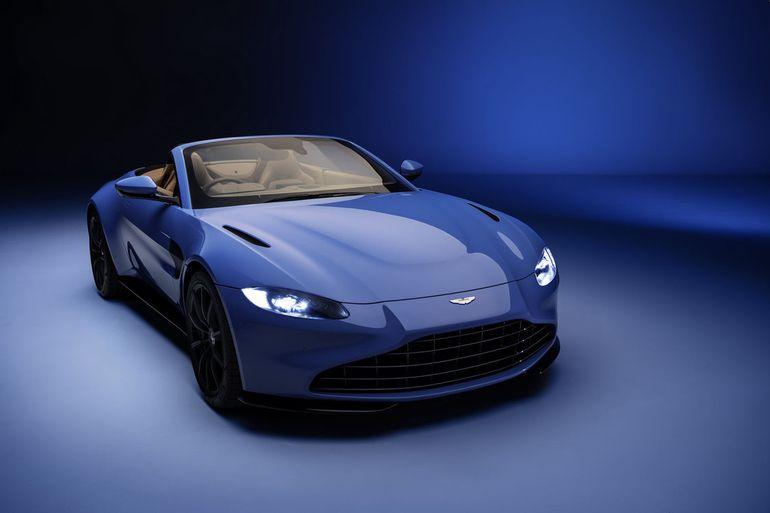Aston Martin Vantage Roadster – kabriolet z najszybciej składanym dachem w historii
