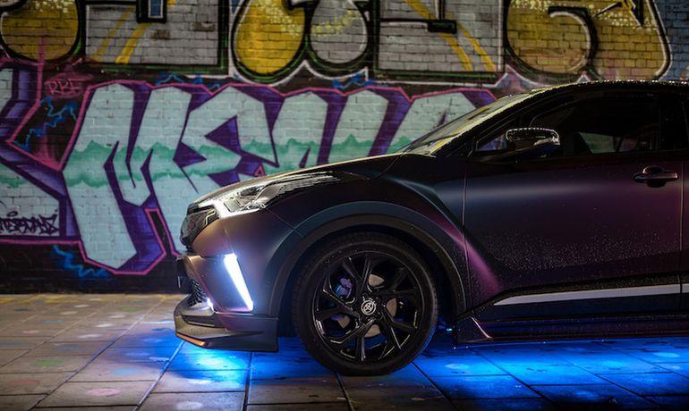 Toyota C-HR z pakietem TRD – eksperyment brytyjskiej tunerki