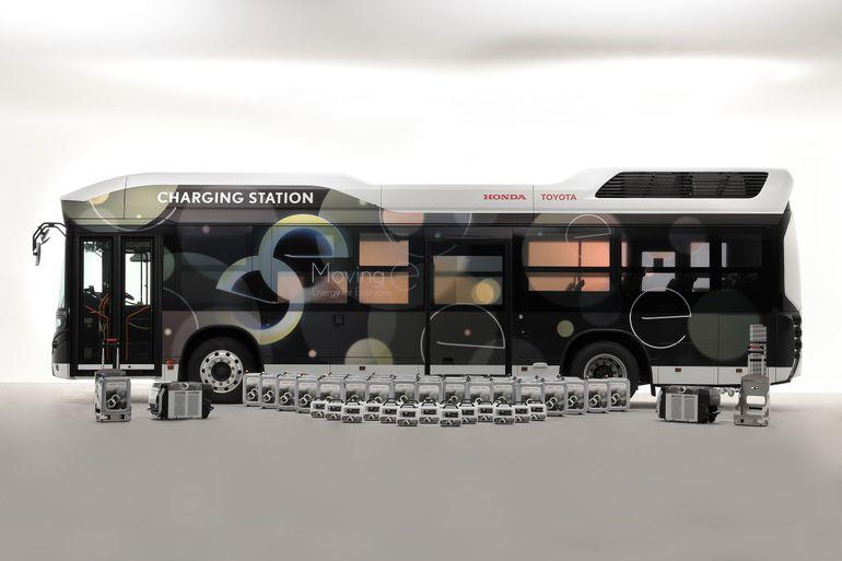 Moving e - Toyota i Honda rozpoczynają testy wodorowego autobusu
