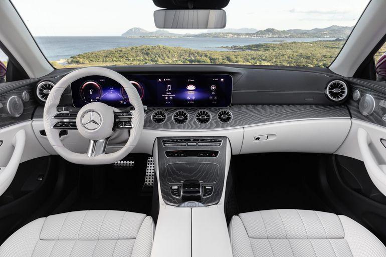 Mercedes-Benz Klasy E po liftingu. Tym razem w wersji coupé oraz kabriolet