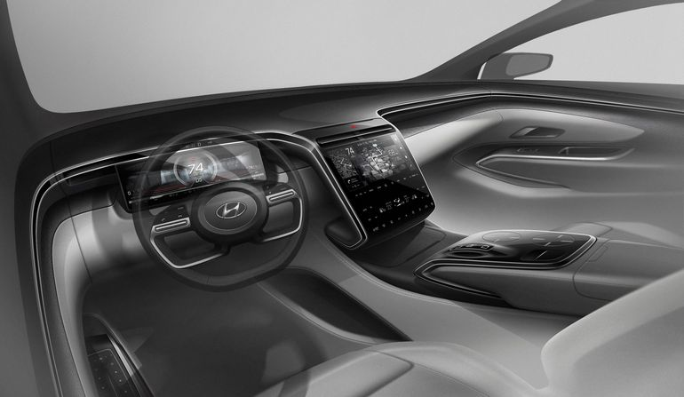 Hyundai pokazał pierwsze zdjęcia modelu Tucson nowej generacji. Wnętrze zaskakuje!