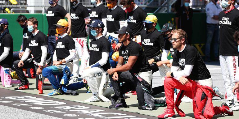 Hamilton niezadowolony z działań  F1 w walce z rasizmem